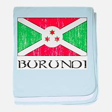 Burundi Flag Infant Blanket
