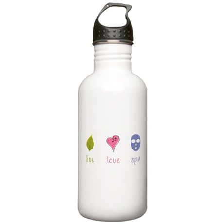 Live Love Spa Stainless Water Bottle 1.0L