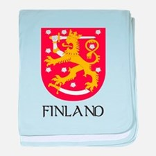 Finland Coat of Arms Infant Blanket