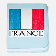 France Flag Infant Blanket