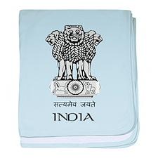 Emblem of India Infant Blanket