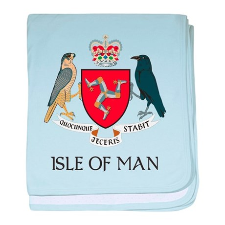 Isle of Man Coat of Arms Infant Blanket