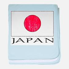 Japan Flag Infant Blanket