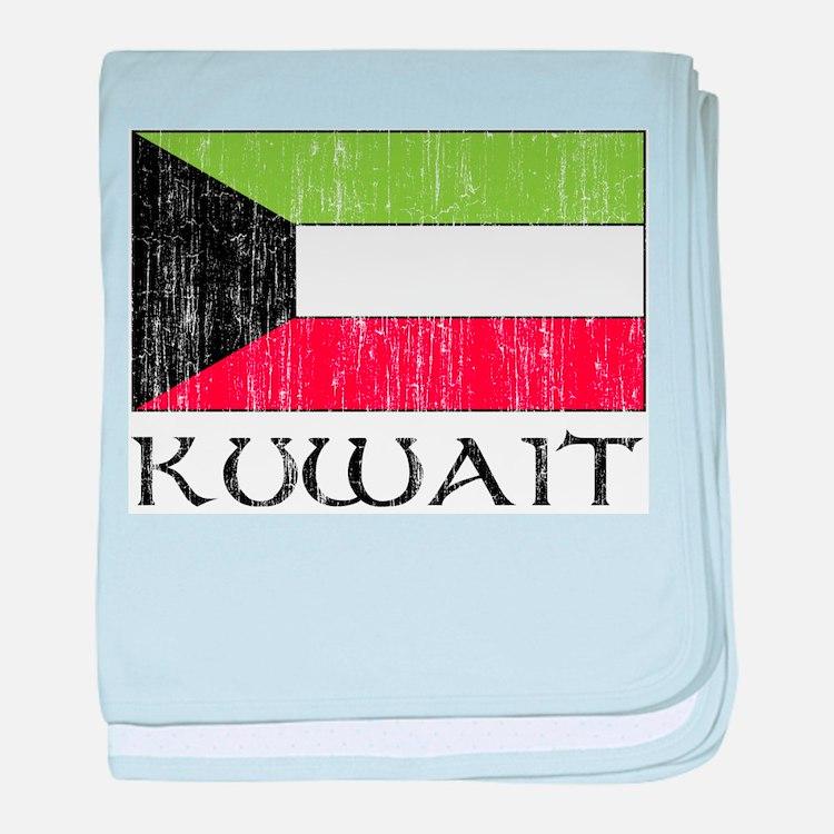Kuwait Flag Infant Blanket