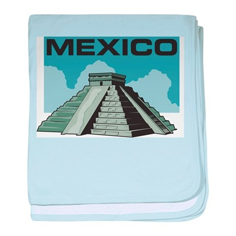 Mexico Pyramid Infant Blanket