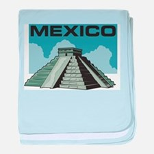 Mexico Pyramid Infant Blanket