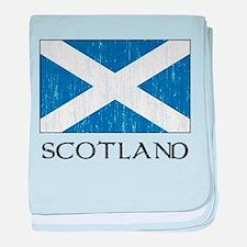 Scotland Flag Infant Blanket