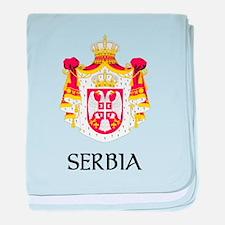 Serbia Coat of Arms Infant Blanket
