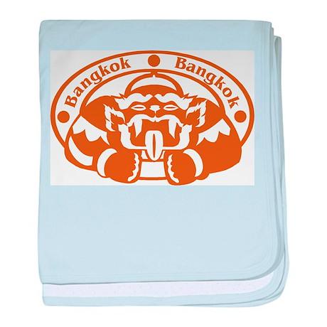 Bangkok Passport Stamp Infant Blanket