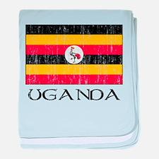 Uganda Flag Infant Blanket