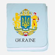 Ukraine Coat of Arms Infant Blanket