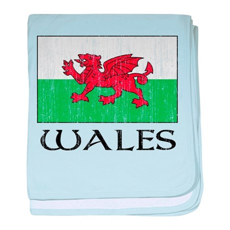 Wales Flag Infant Blanket