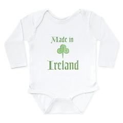 Made in Ireland Long Sleeve Infant Bodysuit