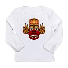 African Mask Long Sleeve Infant T-Shirt