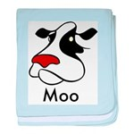 Moo Cow Infant Blanket
