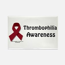 Thrombophilia Awareness Rectangle Magnet