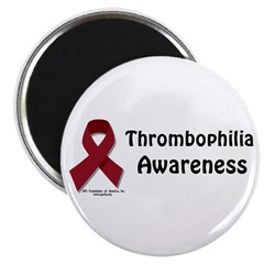 """Thrombophilia Awareness 2.25"""" Magnet (100 pac"""