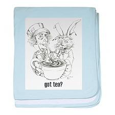 """""""Got Tea?"""" Infant Blanket"""