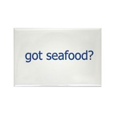 got seafood? logo Rectangle Magnet