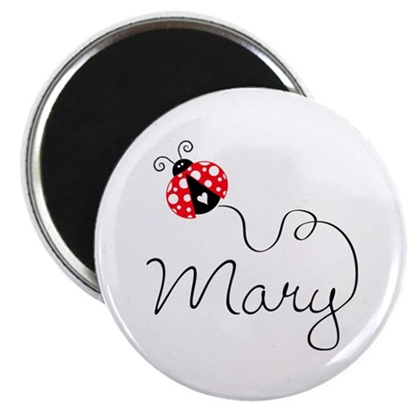 Ladybug Mary Magnet