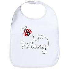 Ladybug Mary Bib