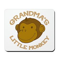 Grandma's Little Monkey Mousepad