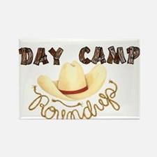 Day Camp Round Up Rectangle Magnet