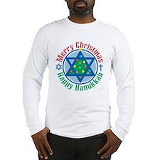 Christmas-Hanukkah Long Sleeve T-Shirt