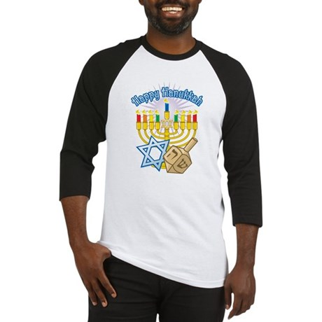 Happy Hanukkah Baseball Jersey