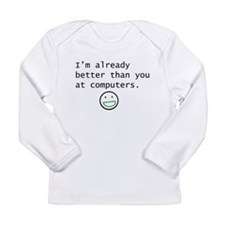 Computers Long Sleeve Infant T-Shirt