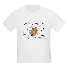 Stink Bug Kids Light T-Shirt