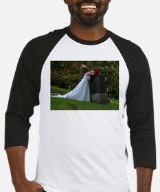 Bride Cry Parents Grave Baseball Jersey