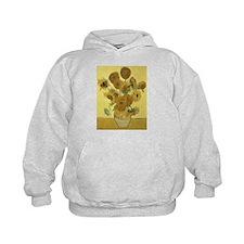 Cute Sunflower van gogh Hoodie