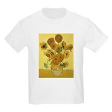 Unique Sunflowers van gogh T-Shirt