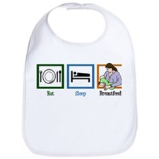 Eat Sleep Breastfeed Bib