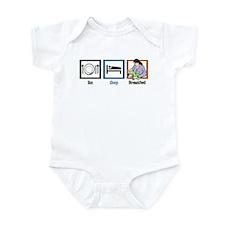 Eat Sleep Breastfeed Infant Bodysuit