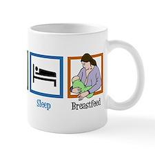 Eat Sleep Breastfeed Mug