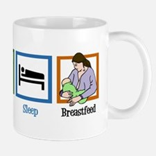 Eat Sleep Breastfeed Mug