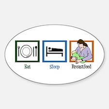 Eat Sleep Breastfeed Decal