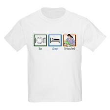 Eat Sleep Breastfeed T-Shirt