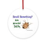 Stink Bug Ornament (Round)