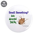 """Stink Bug 3.5"""" Button (10 pack)"""