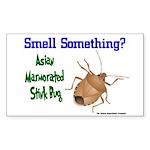 Stink Bug Sticker (Rectangle)