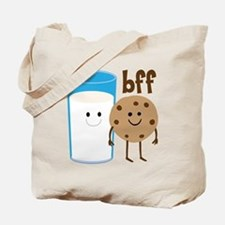 Milk & Cookies BFF Tote Bag