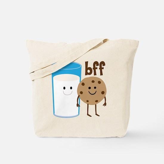 Milk & Cookies BFF Tote Bag