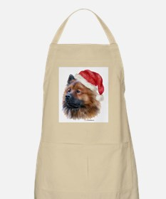 Christmas Eurasier Apron