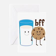Milk & Cookies BFF Greeting Card