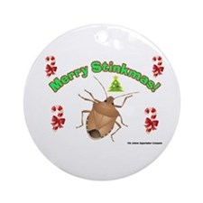Stink Bug Ornament (Round)