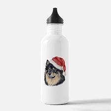 Christmas Finnish Lapphund Water Bottle