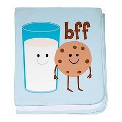 Milk & Cookies BFF Infant Blanket